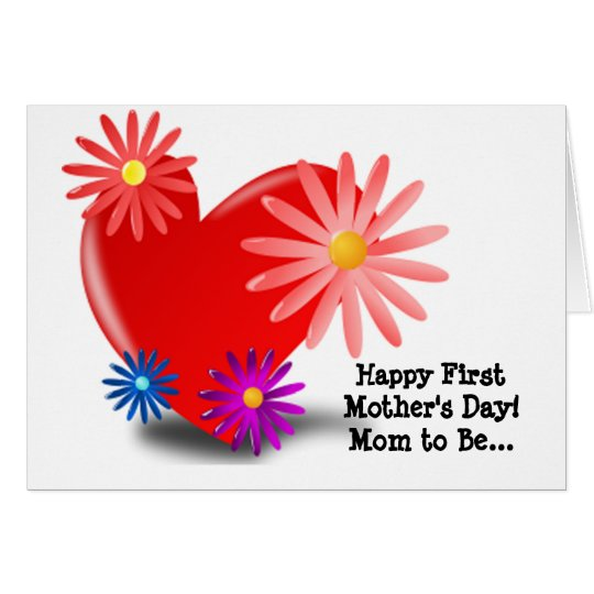 Mother's Day Mom To Be Card
