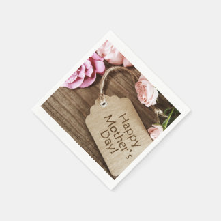 Mother's Day Napkins Disposable Napkins
