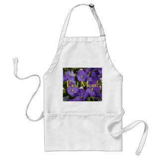 Mother's Day Pansies Standard Apron