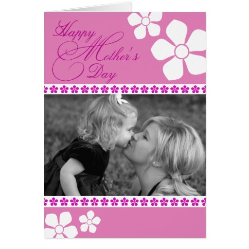 Mother's Day Photo Greeting Card