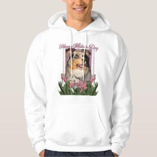 Mothers Day - Pink Tulips - Aussie - Gustine Sweatshirts