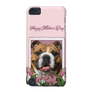 Mothers Day - Pink Tulips - Bulldog iPod Touch (5th Generation) Case
