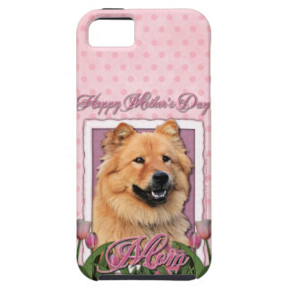 Mothers Day - Pink Tulips - Chow Chow - Cinny iPhone 5 Case
