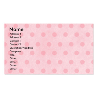 Mothers Day - Pink Tulips - Dachshund - Winston Business Card Template