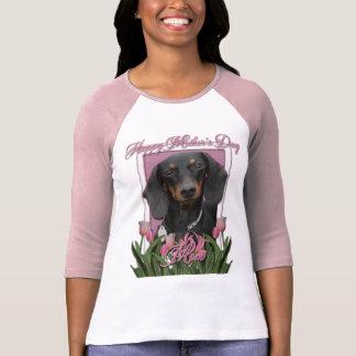 Mothers Day - Pink Tulips - Dachshund - Winston Shirts