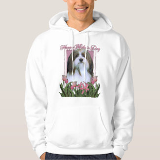 Mothers Day - Pink Tulips - Havanese Pullover