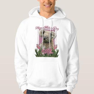 Mothers Day - Pink Tulips - Koala Hoodie