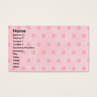 Mothers Day - Pink Tulips - Maltese Business Card