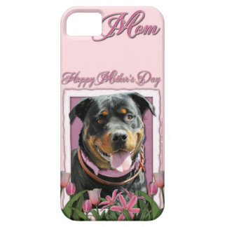 Mothers Day - Pink Tulips - Rottweiler - SambaParT iPhone 5 Covers
