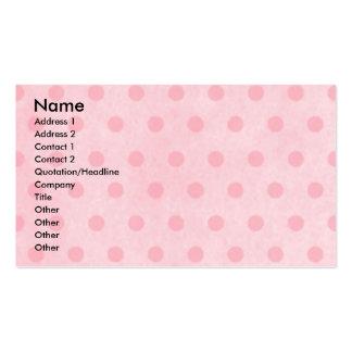Mothers Day - Pink Tulips - Rottweiler -SambaParTi Business Card