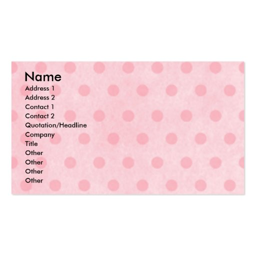 Mothers Day - Pink Tulips - Yorkshire Terrier Business Card