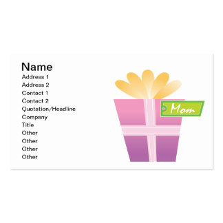 Mothers Day Present Pack Of Standard Business Cards