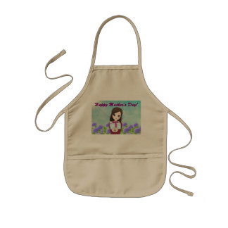 Mother's Day Present Kids Apron