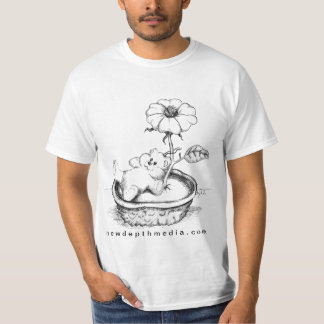 Mother's Day Present - Teddy Bear T-Shirt - White