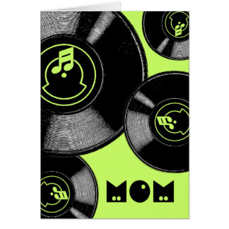 Mother's Day Records Card