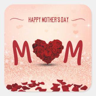 Mother's Day Rose Heart Bouquet - Sticker