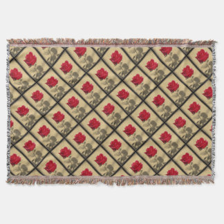 Mother's Day Rose Throw Blanket