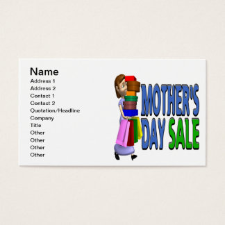 Mothers Day Sale Business Card