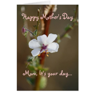 Mother's Day, Sentimental Card