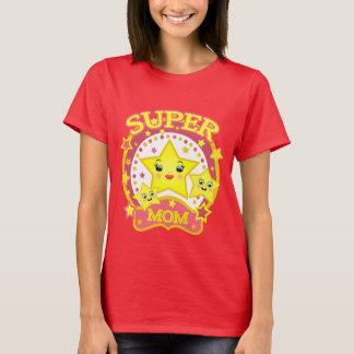 Mother's Day Super Star Mom T-Shirt