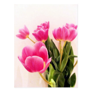 Mother's Day Tulips Postcard