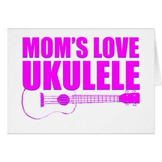 mother's day ukulele card