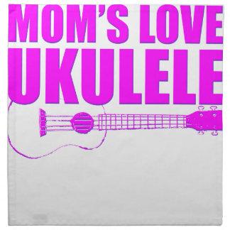 mother's day ukulele napkin