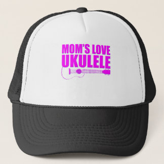 mother's day ukulele trucker hat