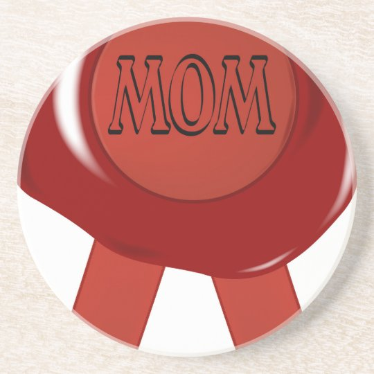 Mothers Day Wax Stamp Coaster