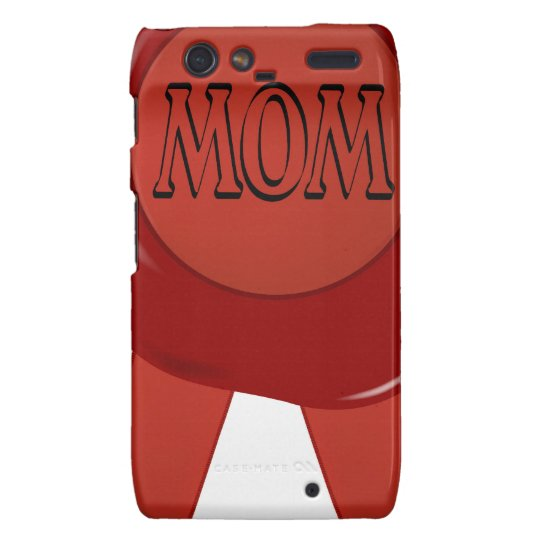 Mothers Day Wax Stamp Droid RAZR Cover