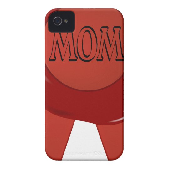 Mothers Day Wax Stamp iPhone 4 Case-Mate Case