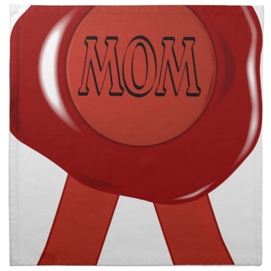 Mothers Day Wax Stamp Napkin