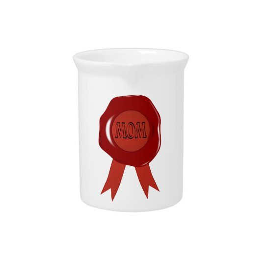 Mothers Day Wax Stamp Pitcher