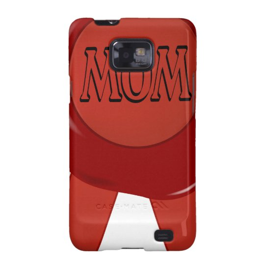 Mothers Day Wax Stamp Samsung Galaxy SII Cover