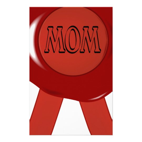 Mothers Day Wax Stamp Stationery