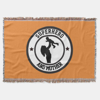 Mothers days throw blanket