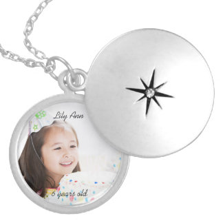 Mother's Grandmother's  Photo Keepsake Necklace