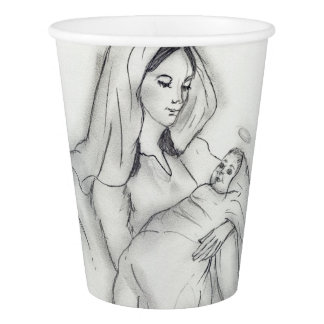 Mothers Love Paper Cup