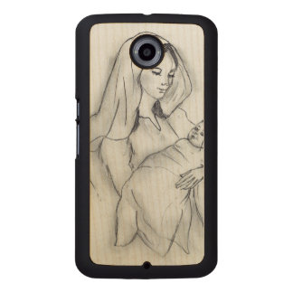 Mothers Love Wood Phone Case