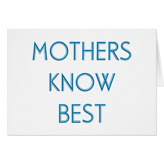 Mothers & Moms (4-6) Card
