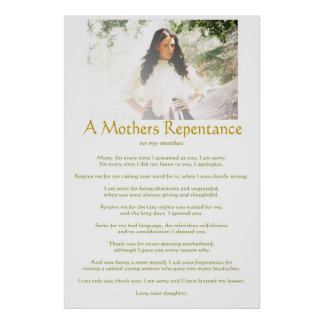 Mothers Repentance Poster
