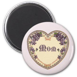 Mothersday_Round Magnet