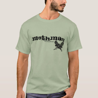 Mothman abstract graphic art cool t-shirt