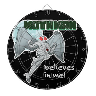Mothman Believes in Me! | Point Pleasant, WV Dartboard