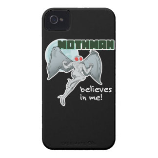 Mothman Believes in Me! | Point Pleasant, WV iPhone 4 Case-Mate Cases