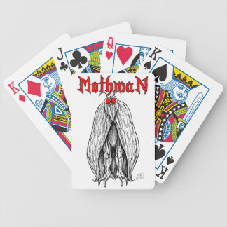 Mothman Bicycle Playing Cards