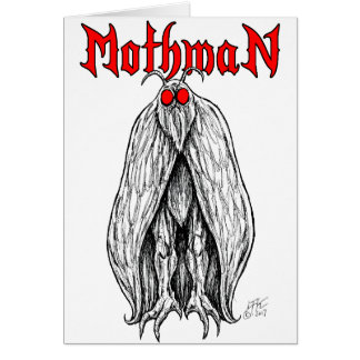 Mothman Card