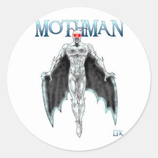 Mothman Classic Round Sticker