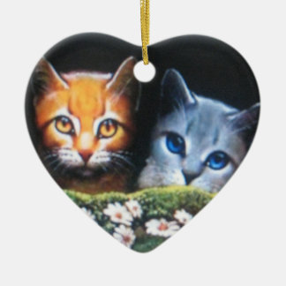 Mothwing and Willow pelt Ceramic Ornament