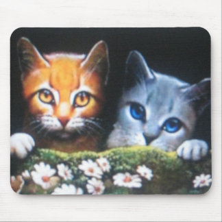 Mothwing and Willowpaw mousepade Mouse Pad